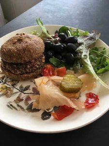 Keto Vegan Burgers