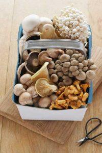 Mushrooms Vitamin B12