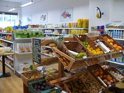 Health food store
