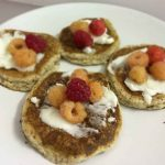 Low carb vegan pancakes