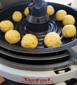 Falafels in air fryer